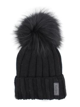 Maniere Kids Merino Wool Hat - Black - Maniere
