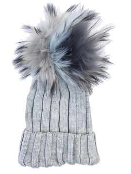 Maniere Adult Merino Wool Hat - Light Grey - Maniere