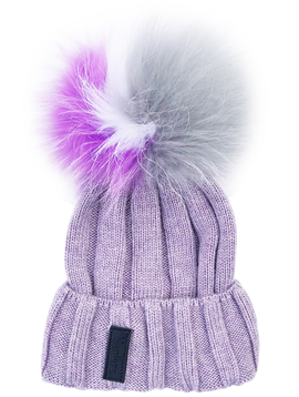 Maniere Kids Merino Wool Hat - Pale Purple - Maniere
