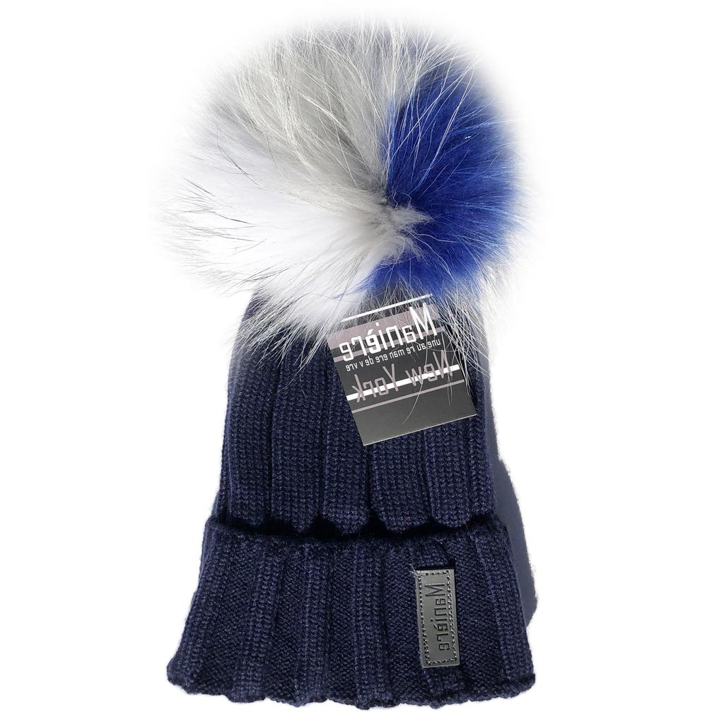 Maniere Kids Merino Wool Hat - Navy - Maniere