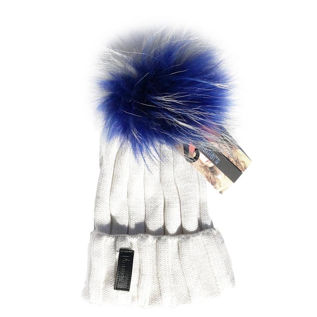 Maniere Kids Merino Wool Hat - White - Maniere