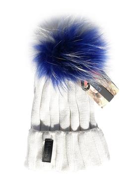 Maniere Adult Merino Wool Hat - White - Maniere