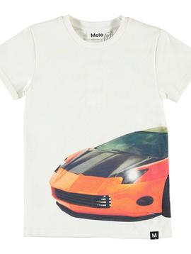 molo Raven Car Shirt - Molo Boys Clothing