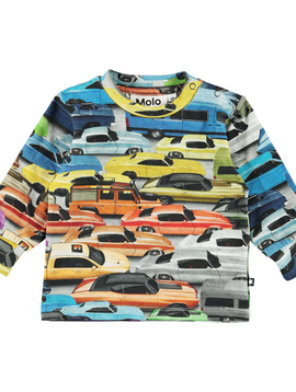molo Eloy Cars Tee - Molo Baby Boy Clothing