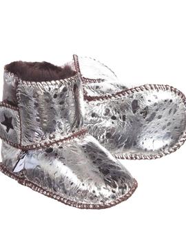molo Dust Silver Bootie  - Molo Baby Girl