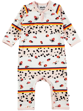 molo Fiona Ladybug Romper - Molo Kids Clothing