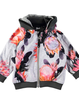 molo Rain Jacket - Sugar Flowers - Molo Kids Clothing
