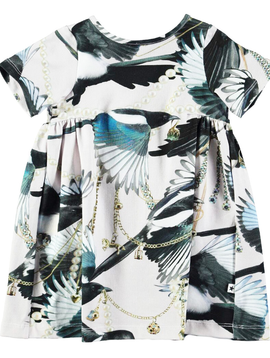 molo Calypso Dress - Treasure Print - Molo Kids Clothing