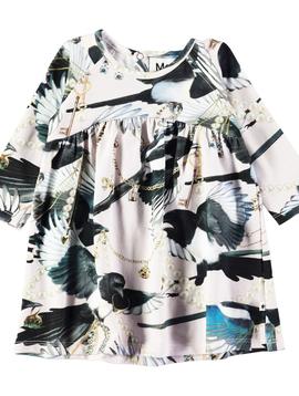 molo Carlys Dress - Treasure Print - Molo Kids Clothing