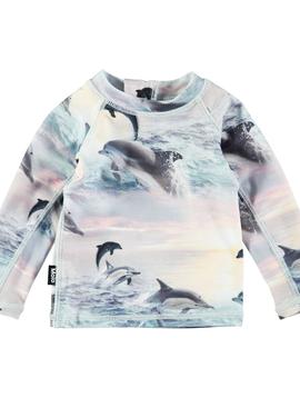 molo Nemo Rash Guard - Dolphin - Molo Swimwear