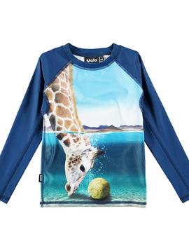 molo Neptune Rash guard - Giraffe - Molo Swimwear
