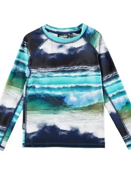 molo Neptune Rashguard - Ocean - Molo Swimwear