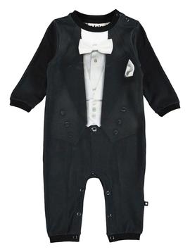 molo Tuxedo Romper - Festig - Molo Baby Boy