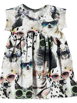 molo Baby Cille Dress - Sunny Funny - Molo Kids