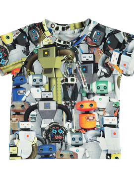 molo Baby Emmett Robot Top - Molo Kids Clothing