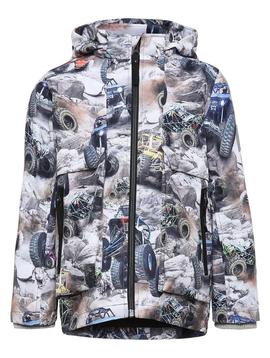 molo Casper Rain Jacket - Offroad Buggy - Molo Kids Clothing