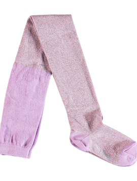 molo Glitter Tights - Lavender - Molo Kids Clothing