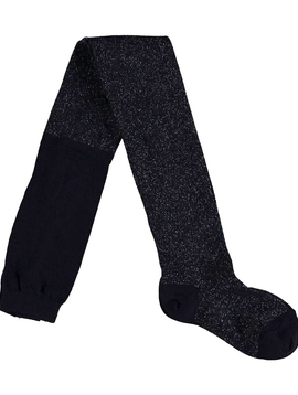 molo Navy Glitter Tights -  Molo Kids