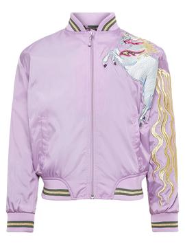 molo Unicorn Bomber Jacket - Hennah - Molo Kids Clothing