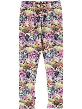 molo Niki Legging - Small Flowers - Molo Kids