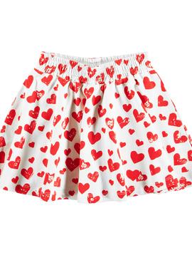 molo Barbera Hearts Skirt - Molo Kids Clothing
