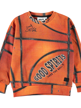 molo Madsim Basketball Sweatshirt - Molo Kids Clothing