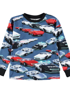 molo Rai Cars Shirt - Molo Kids Clothing