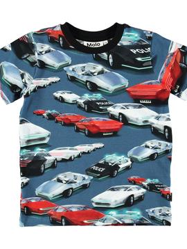 molo Ralphie Cars Shirt - Molo Kids Clothing