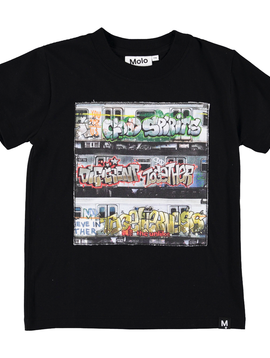 molo Road Subway Graffiti Shirt - Molo Kids Clothing
