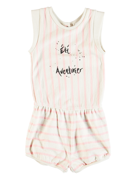 molo Abigail Pink Romper - Molo Kids Clothing