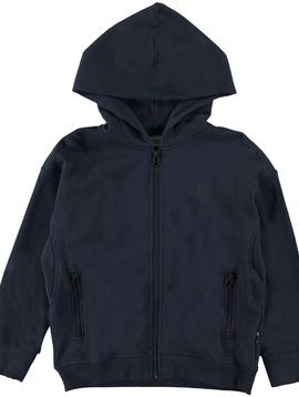 molo Mash Zip Hoodie Sweatshirt - Molo Kids Clothing