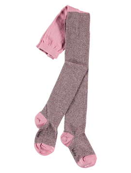 molo Glitter Tights - Haze - Molo Kids Clothing