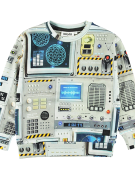 molo Madsim Space Sweatshirt - Molo Kids Clothing