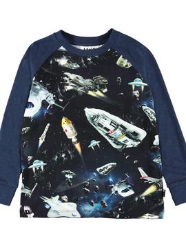 molo Ramiz Space Shirt - Molo Kids Clothing