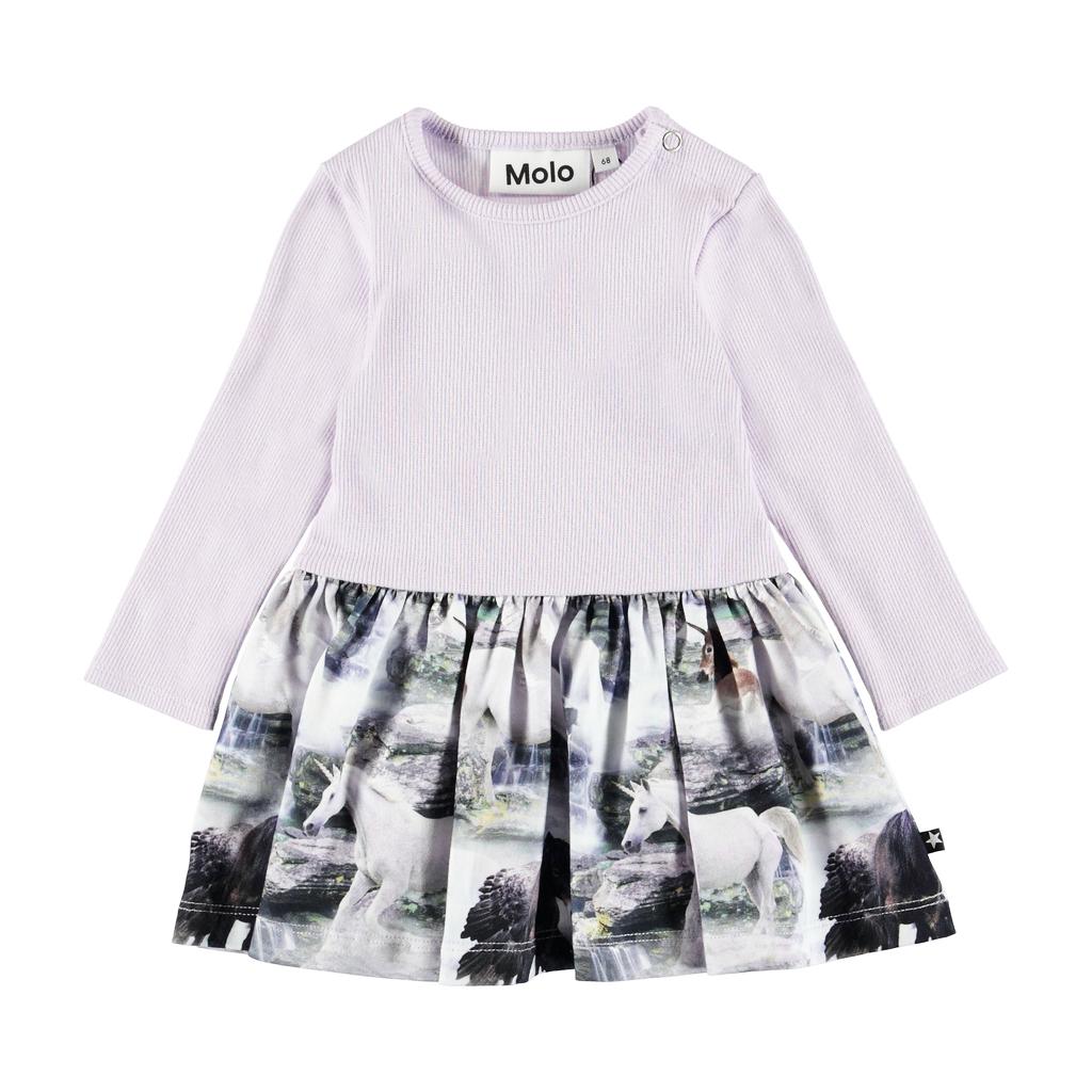 molo Carel Unicorn Dress - Molo Baby Girl