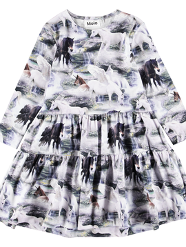 molo Chia Unicorn Dress - Molo Kids Clothing