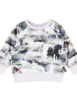 molo Elsa Unicorn Top - Molo Baby Girl
