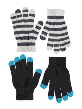 molo Keio Gloves - Black - Molo Kids Outerwear