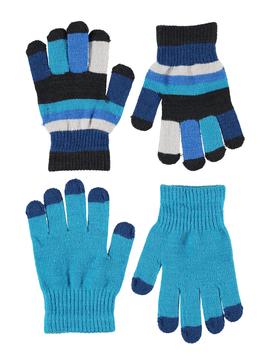 molo Keio Gloves - Blue - Molo Outerwear