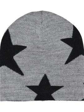 molo Colder Black Star Hat - Molo Outerwear