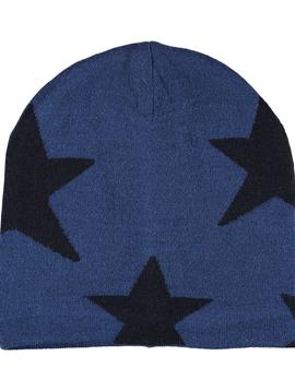 molo Colder Navy Star Hat - Molo Outerwear