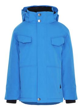 molo Henny Blue Coat - Molo Outerwear