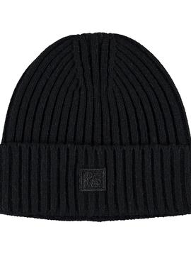 molo Karli Black Knit Beanie - Molo Outerwear