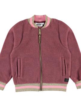 molo Bomber Fleece Jacket - Molo Outerwear