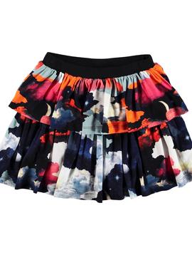 molo Bini Skirt - Moon Stars - Molo Kids Clothing