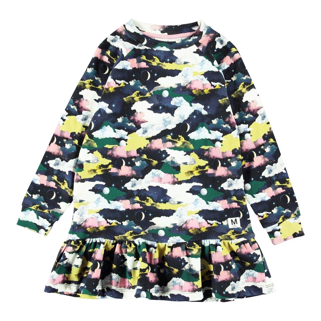 molo Carlotta Dress - Moons - Molo Kids Clothing