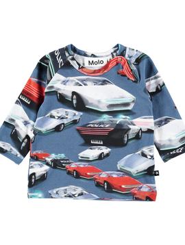 molo Ewald Cars Top - Molo Kids Clothing