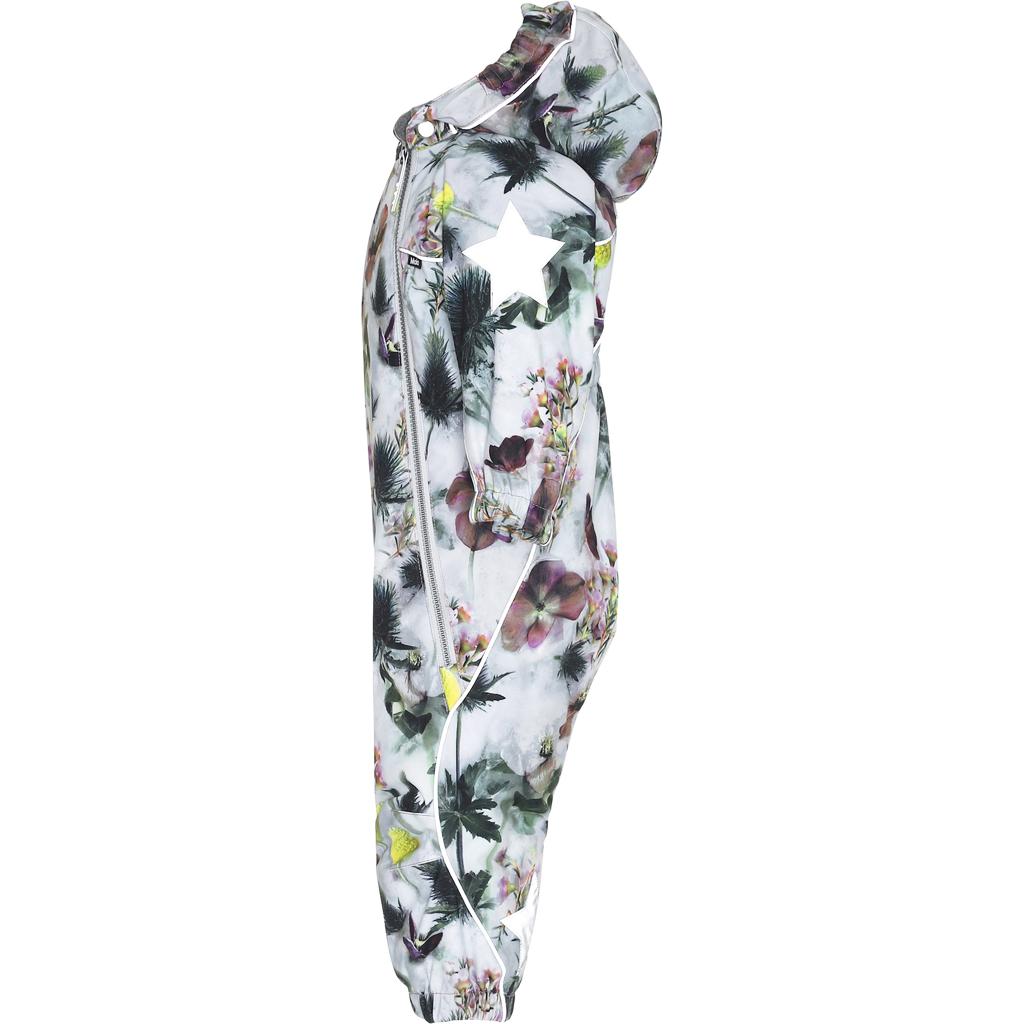 molo Pyxis Snowsuit - Frozen Flowers - Molo