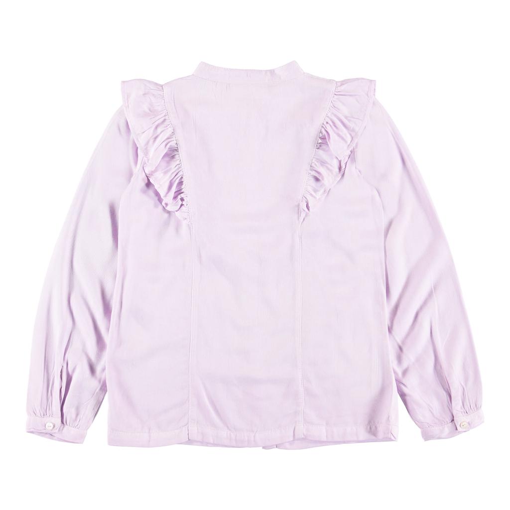 molo Rassine Lavender Blouse - Molo Kids Clothing