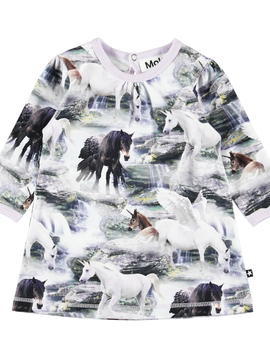molo Caroline Unicorn Dress - Molo Kids Clothing